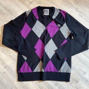 Men's Argyle Express sweater